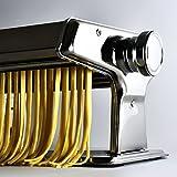 Nudelmaschine aus Edelstahl Pastamaker Pastamaschine; Die Nudel Maschine für frische Pasta -