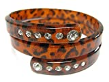 Animal Print Wrap Ladies Fashion pulsera de puño