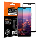 Spigen Verre trempé Compatible avec Huawei P20 Pro, [Full Cover Black], Compatible avec Les Coques, Extreme Résistant aux Rayures, Ultra Claire, Protection écran Huawei P20 Pro (L23GL23082)
