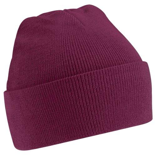 Beechfield - Bonnet tricoté - Adulte unisexe Rose fluo