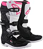 Damen Cross Stiefel Alpinestars Stella Tech 3 black/white/pink Ladys, 9=41