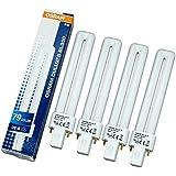 SET: 4x UV Röhre OSRAM DULUX S BL350 9 Watt 9W/79 (High Quality Induktions-Röhre) für UV Lichthärtungsgerät