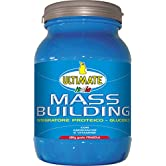 Ultimate Italia Mass B Building Gainer, Fragola - 1800 gr - 51Q%2BCR1cyXL. SS166