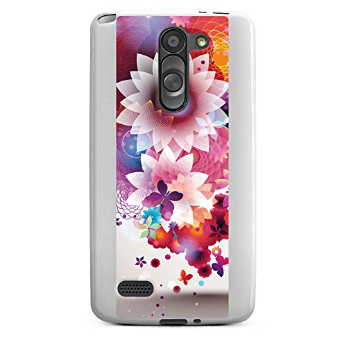 DeinDesign LG L Bello Silikon Hülle Case Schutzhülle Colourful Bunt Flowers