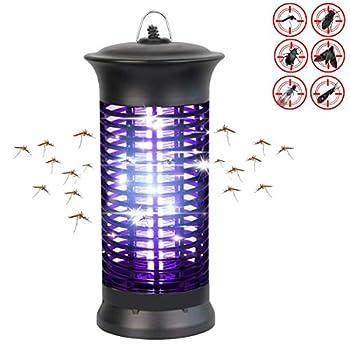 WDqgwen Lampe Anti-Moustique UV Piège À Mouches Catcher Tueur Électronique Anti-Mouches Anti-Insectes Anti-Mouches pour La Maison Jardin Intérieur Utilisation