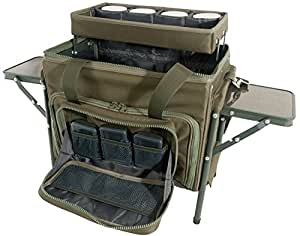 TF Gear Compact Workstation Rig and Bait Station Multi purpose all in one Tackle storage carryall