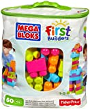 Mega Bloks Trendy Colours Buildable Bag (60 Pieces)