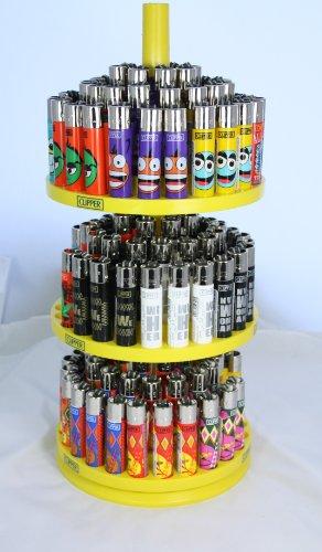 Preisvergleich Produktbild Clipper Feuerzeug collecters Display Ständer Karussell