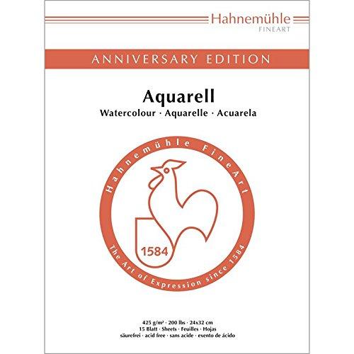Aktion AnniversaryEditionAquarell 425g/m², 24x32cm, 50Blatt (Edition Blätter)