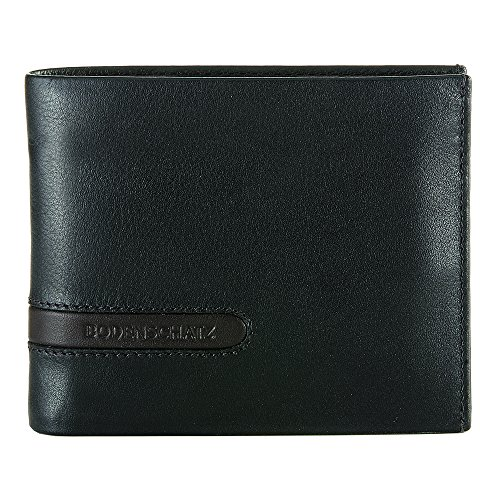 Bodenschatz Catania 8-284 CA 05 Herren Geldbörsen 13x10x3 cm (B x H x T) Schwarz (Black)