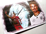 Nationalspieler MATS HUMMELS ein saustarker- Kunstdruck direkt vom Künstler 30cm x 42cm