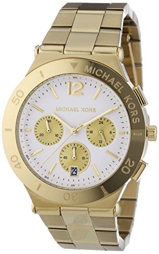 Michael Kors Damen-Armbanduhr Chronograph Quarz Edelstahl MK5933