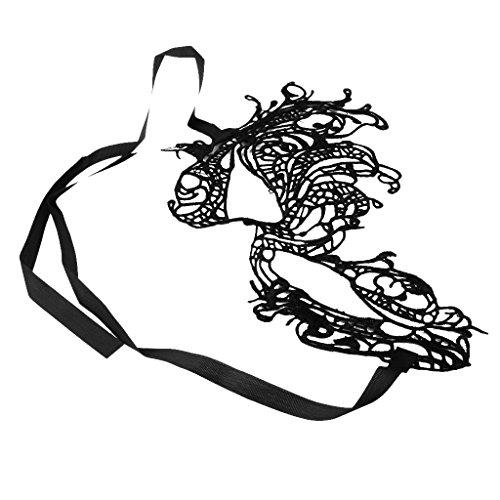 Sharplace Phoenix Form Damen Venezianische Maskerade Spitze Maske für Weihnachten Halloween Karneval Geburtstag Party Kostüm Make up - (Phoenix Kostüme Halloween)