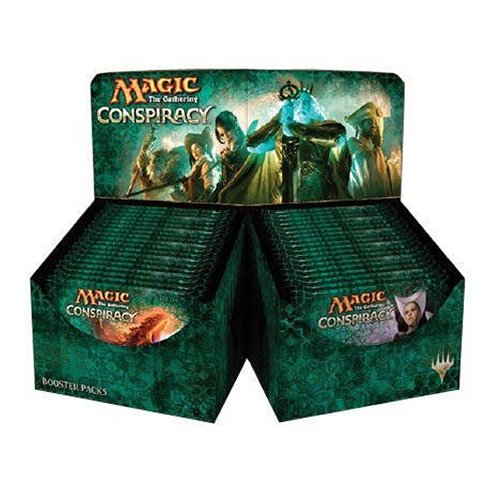 Wizards Of The Coast MTG-CNS-EN - Magic The Gathering - Conspiracy Booster Display, Englisch, Kartenspiel, 36-er Pack - Draft-booster