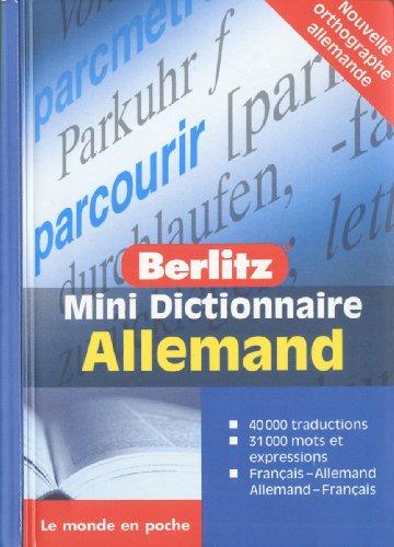 Allemand Mini Dictionnaire
