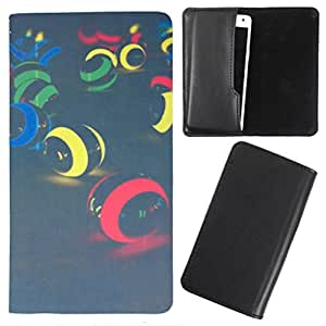 DooDa - For Panasonic P31 PU Leather Designer Fashionable Fancy Case Cover Pouch With Smooth Inner Velvet