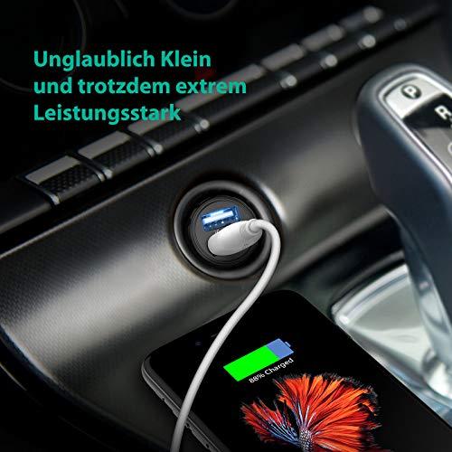 Auto USB Ladegerät, RAVPower 2-Port 24W 4 8A Mini Auto