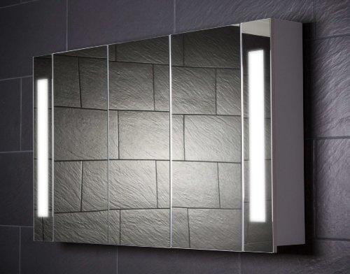 Großer Spiegelschrank Curve, 120 cm