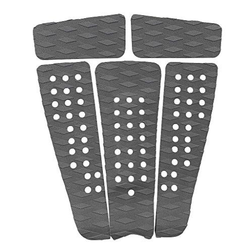 Descripción:      5 piezas universal antideslizante tabla de surf cojín almohadilla girp, cómodo, durable y ligero   Adhesivo en la parte posterior, fácil de aplicar y quitar   El surco de diamante garantiza que su pie delantero quede bloquea...