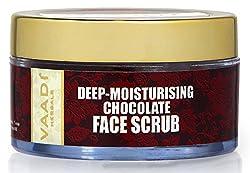 Vaadi Herbals Deep Moisturising Chocolate Face Scrub, 50g