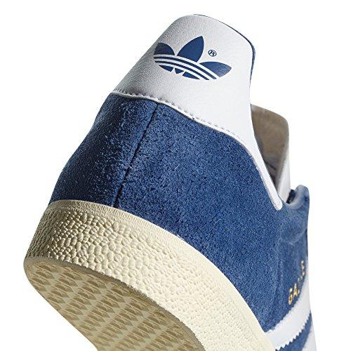Adidas Gazelle Chaussures Homme. Nobuk Sneaker, Trainer, Collegiate Royal/Ftwr White/Cream White