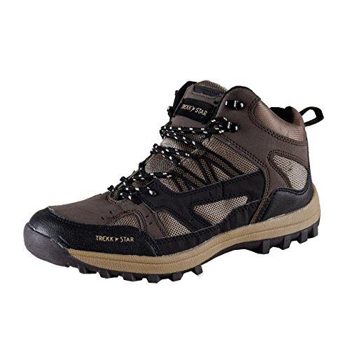 TREKK STAR, chaussures de sport pour Homme avec protection contre la saleté Marron