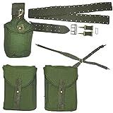 Armeeverkauf Schwed. Armee Koppeltragegestell 3 Taschen +Koppel +Koppeltragegestell