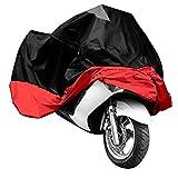 HOUSSE BACHE MOTO Couvre-Moto VTT grande Taille XXXL rouge noir protection sportive modele ex.Harley