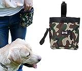 Ylen Camuflaje Bolso del Entrenamiento del Perro Tratar Bolsa para Mascotas Dispensador de Bolsas de Poo