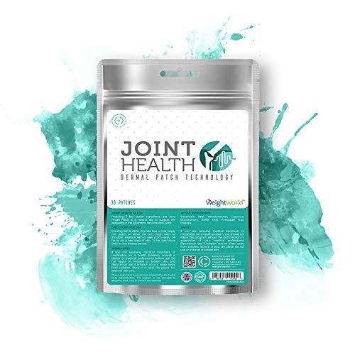 Joint Health Patches | 100{e74c8d1c9c99fdee6ce877b511c15d62af75429739cd85b279443c3a3b6760c4} Natürliche Schmerzpflaster Entzündungshemmend | Hilfe gegen Gelenk Schmerzen in Knie, Schulter, Rücken & Nacken | Selbstklebende Pflaster | 30 Stück