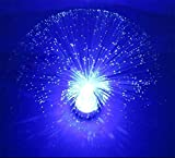 GJY LED ÉCLAIRAGELed Plein Jour Ciel Fibre Lumière Coloré Intérieur Lampe De Décoration Romantique Lampe De Table Décorative , Blue,blue