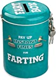 Boxer Gifts Instant Fines Pay Up Tin, Farting