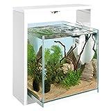 Ferplast Samoa 30Open Aquarium 38,6x 30x H 42cm 25L weiß