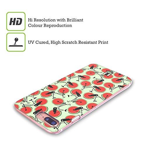 Head Case Designs Kiwi Ruote Fruttate Cover Retro Rigida per Apple iPhone X Cocomero