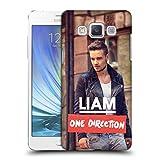 Head Case Designs Offizielle One Direction Lederjacke Foto Liam Payne Ruckseite Hülle für Samsung Galaxy A5 (2015)
