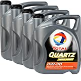 4x MOTORÖL TOTAL QUARTZ INEO FIRST 0W-30 5L
