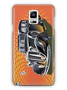 YuBingo Vintage Dream Car Mobile Case Back Cover for Samsung Galaxy Note 4