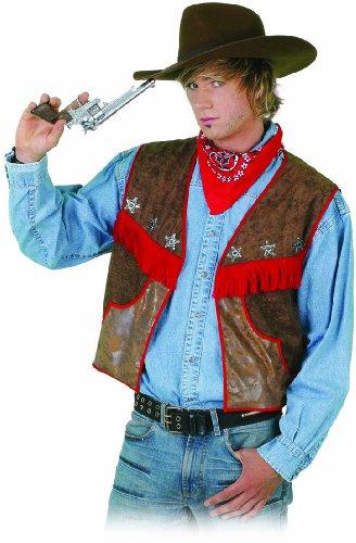 Wilbers - Gilet da cowboy, 122 cm