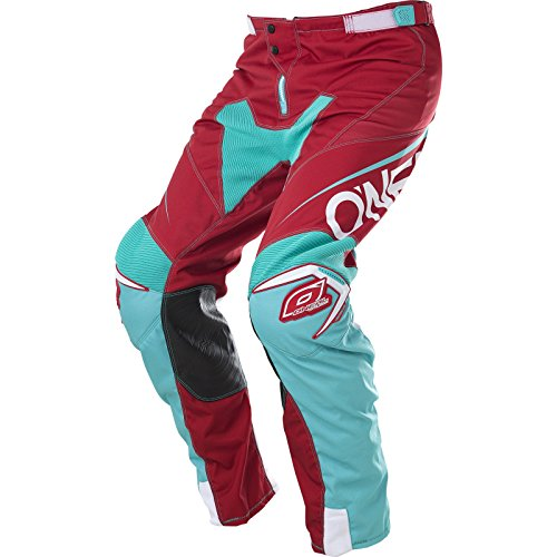 0130-334 - Oneal Mayhem Lite 2017 Blocker Motocross Pants 34 Red Teal -