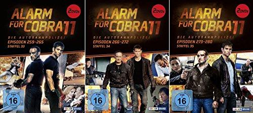 Alarm für Cobra 11 - Staffel 33-35 (6 DVDs)