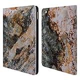 Head Case Designs Offizielle PLdesign Abstrakte Linien Felsen Gewebe Und Funkel Brieftasche Handyhülle aus Leder für iPad Air 2 (2014)