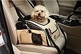 Perrory Hundebox Autositz und Tragetasche für Hunde und Katzen Hundetasche