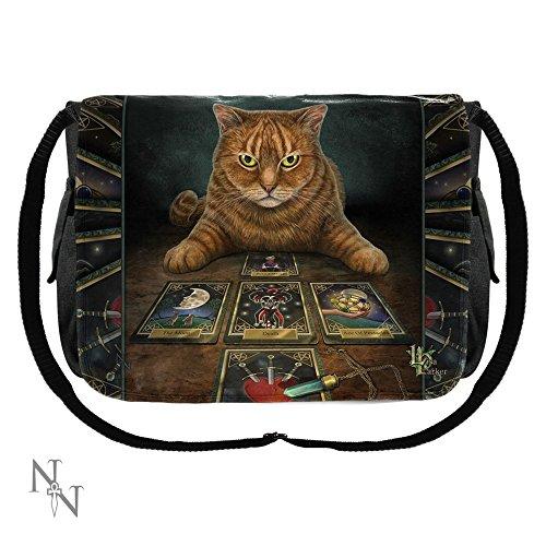 Il lettore Lisa Parker-Borsa Messenger, motivo: gatto