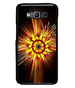 PrintVisa Designer Back Case Cover for Samsung Galaxy On 5 (multicolor sparkling flower shining view)