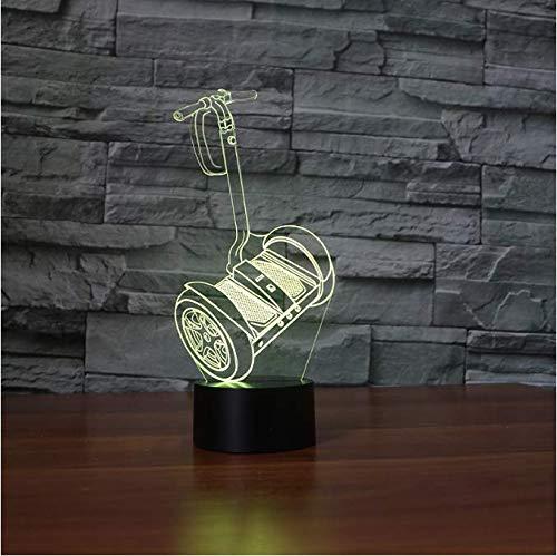 Balance Auto Touch Tischlampe 7 Farben Ändern Schreibtischlampe 3D Lampe Neuheit Led Nachtlichter Todesstern Led-Licht