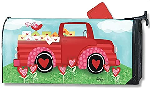 Special Delivery Valentine MailWraps Magnetic Mailbox Cover #03407