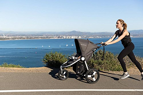 Bumbleride Speed All terrain Jogging Stroller - Dawn Grey Mint Bumbleride  3