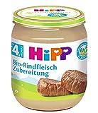 HiPP Bio-Rindfleisch-Zubereitung, 6er Pack (6 x 125 g)