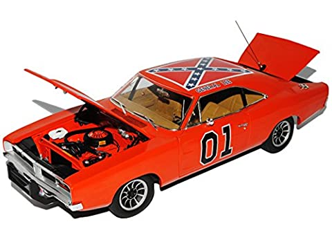 Dodge Charger 1969 Dukes of Hazzard General Lee Orange High