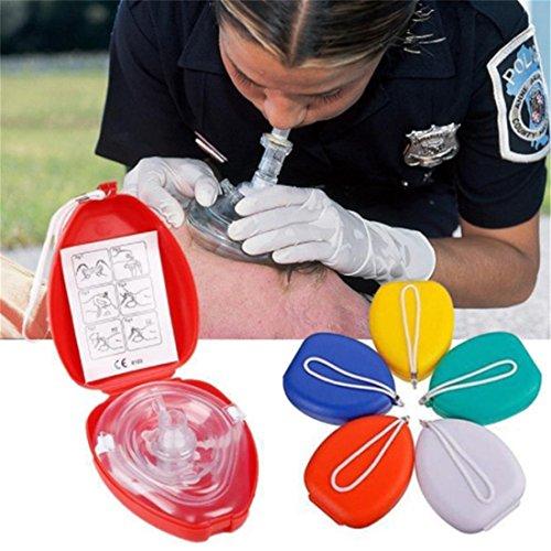 Yingwei VWH 1 pc Simple Respirateur Unidirectionnel CPR Protéger Masque La Formation de Secourisme d'urgence L'Outil de Soins du Visage